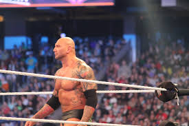 Dave Bautista Wikipedia the free encyclopedia Batista at WrestleMania XXX in the main event.