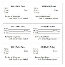 Sample Raffle Ticket Template - 20+ PDF, PSD, Illustration, Word ... BKHS Raffle-ticket-template
