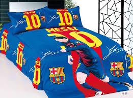 aliexpresscom buy home textile barcelona bedding set team 100 cotton messi football fans for bedding bedroom set bed sheet set from reliable textile barcelona bedroom
