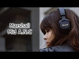 Видео на канале: Обзор <b>наушников Marshall Mid A.N.C</b> | Mobile ...
