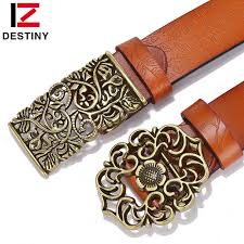 <b>DESTINY</b> Women Leather <b>Belts</b> Designer Brand Luxury Girls Ladies ...