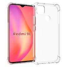<b>ASLING Phone Case</b> for Xiaomi Redmi 9C Transparent Cases ...