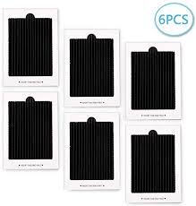 6 Pack Carbon Activated Refrigerator Air Filter ... - Amazon.com
