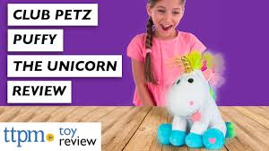 <b>Club Petz</b> Puffy Stuffed Animals Review from <b>IMC Toys</b> - YouTube