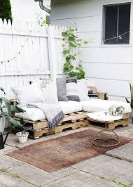 cozy outdoor patio sofa