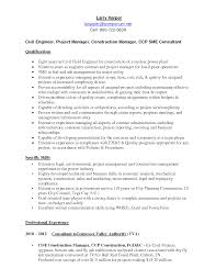project manager resume civil professional resume cover letter sample project manager resume civil civil project manager resume samples jobhero resume attractive project manager and construction