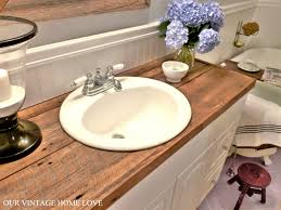 bathroom vanity uk company countertop combination: hate your countertops diy salvaged wood countercheap and so much more