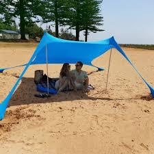 Family Beach Sunshade Large Tent Outdoor <b>Lightweight</b> Tent ...