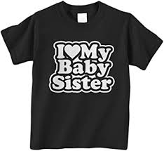 Threadrock Little Boys' I Love My Baby Sister Infant ... - Amazon.com