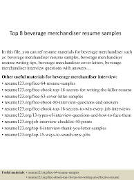 visual merchandising resume sample educational administrator merchandiser resume job description clasifiedad com top8beveragemerchandiserresumesamples 150602132900 lva1 app6892 thumbnail 4 merchandiser resume job