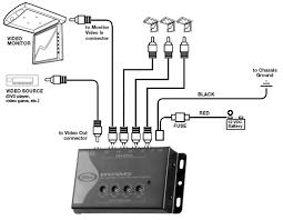 boss amplifier wiring diagram video boss amplifier wiring amazon com boss audio bvam5 one in four out car video signal boss amplifier wiring diagram
