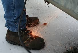 Wearing protective footwear has several benefits.