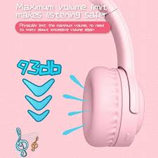 <b>E3 Kids Bluetooth</b> 5.0 Wireless Wired Headphones Audio Sharing ...