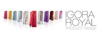 <b>IGORA</b> ROYAL PRODUCT RANGE