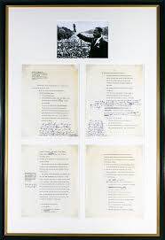 martin luther king signed speech speech of martin luther king jr 20067