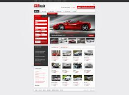 new used cars website template  new used cars website template