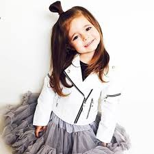 Fashion <b>Kids</b> Leather Jacket For Girls PU Jacket <b>Children</b> Leather ...