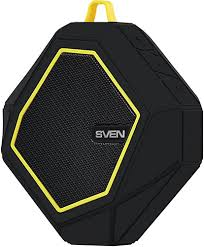 <b>Портативная колонка PS</b>-<b>77</b> Black/Yellow (SV-016449) - купить ...