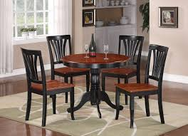 black kitchen dining sets:  ideal black kitchen table and chairs for home decoration ideas with black kitchen table and chairs