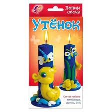 <b>Набор для творчества</b> Луч Лепим <b>свечи</b> Утенок – выгодная цена ...