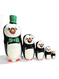 <b>Матрешка</b>. Пингвины Taowa 5957630 в интернет-магазине ...