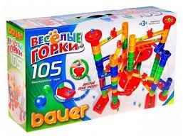 Динамический <b>конструктор Bauer</b> Веселые горки 274 105 деталей