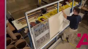 Aluflex <b>Aluminum Frame</b> Doors-Construction Process - YouTube