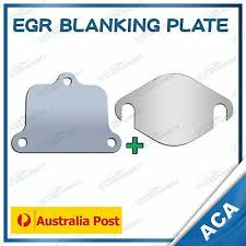 <b>EGR Blanking Plates</b> Fit Ford PX PXII Ranger Mazda BT-50 3.2L 2.2 ...
