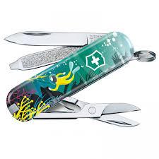 <b>Нож</b>-<b>брелок</b> Victorinox 0.6223.L2006 <b>Deep Dive</b> 58 мм ...