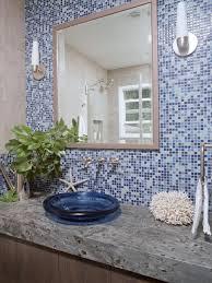 coastal bathroom designs:  coastal single vanity bathroom photos