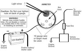 battery gauge wiring diagram how to install an auto meter pro comp ultra lite voltmeter gauge wiring