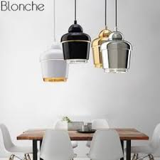 <b>Nordic Metal</b> Bell <b>Pendant</b> Lights Gold Led Modern <b>Hanging</b> Lamp ...