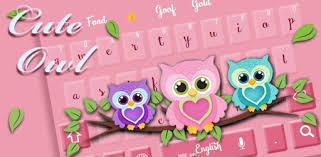 <b>Cute owl</b> keyboard - Apps on Google Play