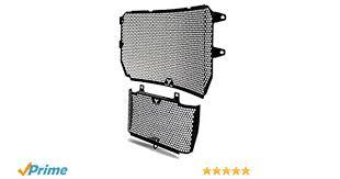 <b>MT-10</b> Motorbike Stainless Steel Radiator Grille Guard Cover/Oil Kit ...