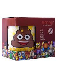 <b>Кружка</b> керамическая в подарочной упаковке. <b>Эмодзи Poo</b>. Stor ...