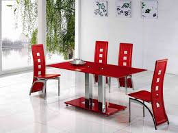 ddt ddc bl glass dining table red dining table with red dining table