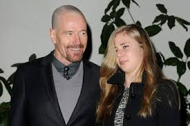 Photo of Bryan Cranston & his  Daughter  Taylor Cranston