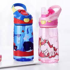 Enfant <b>450ml Portable</b> Tritian Material Bpa Free Safe Duck Straw ...