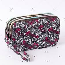 <b>Women Casual Floral Daily</b> Phone Bag Long Section Three Layer ...