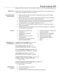 nurse resume format doc   resume template databasenurse resume template