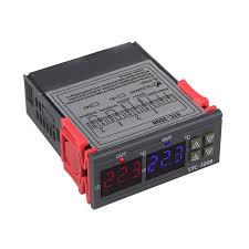 Dual <b>Digital Temperature Controller</b> Two Relay Output <b>Thermostat</b> ...