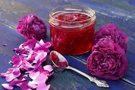 Resultado de imagen para mermelada de petalos de rosa