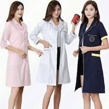 Medical <b>Uniforms</b> Dentist Clothing <b>Doctor</b> White <b>Lab Coat</b> Pharmacy ...
