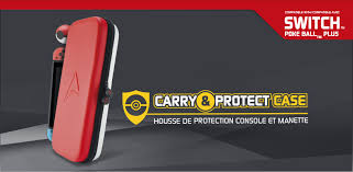 Carry & Protect case for Switch console (Switch & <b>Poke Ball</b> Plus)