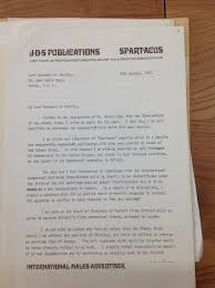 1970 john d stamford of spartacus applied to lord i do not wish to accept any form of salary from the albany trust should i be offered the position of director and would be willing to provide my services