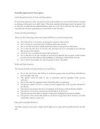 hotel receptionist job description receptionist job description  hotel receptionist job description receptionist job description resume sample