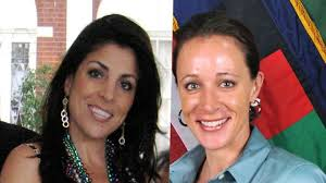 But their ties to ex-CIA director David Petraeus has put Paula Broadwell and Jill Kelley in the glaring spotlight. - petraeus%2520women