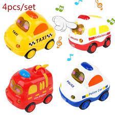 Kawaii <b>Mini car</b> 4Pcs/set Cartoon Pull back <b>Car baby</b> toys ...