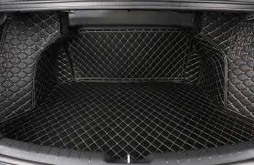 <b>3D</b>-<b>обшивка</b> (<b>коврики) в багажник</b> Корея для Hyundai Elantra 2019 -