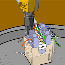how do i wire a network socket 2 ports cat5 rj45 wiring if you have a choice use t568b wiring in any case make sure you use the same wiring on both sides